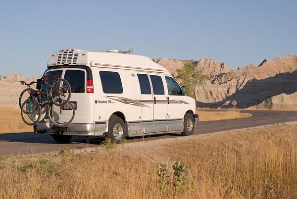 Yellowstone vacation 042 Badlands 091709